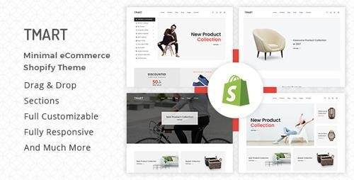 ThemeForest - Tmart v1.0.4 - Minimalist Shopify Theme - 21357973
