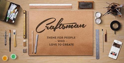 ThemeForest - Craftsman v1.6.1 - WordPress Craftsmanship Theme - 10859297