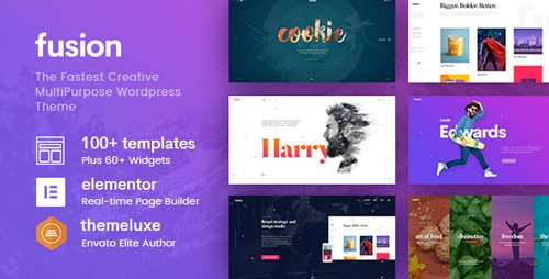 ThemeForest - Fusion v1.3.34 - Creative Multi-Purpose WordPress Theme - 20320094