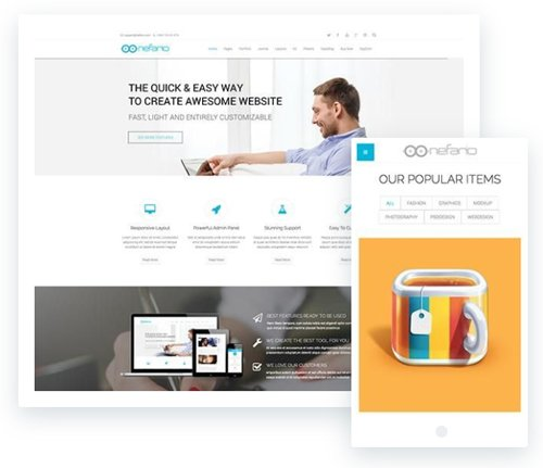 ThemeXpert - Nefario v3.0 - Premium Business Template For Joomla
