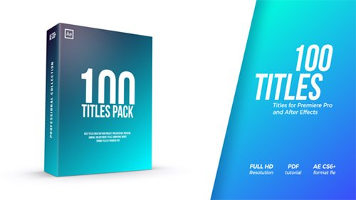 Titles Pack 22120299 - Project for After Effects (Videohive)