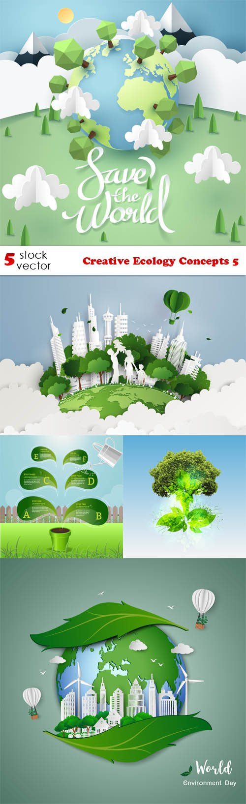 Vectors - Creative Ecology Concepts 5
