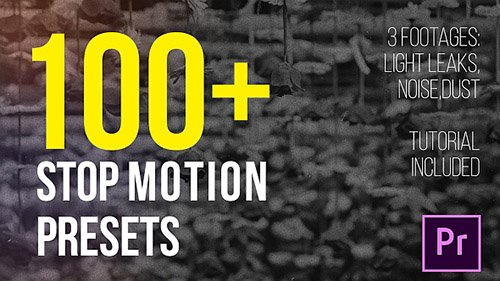 Stop Motion Presets - Premiere Pro Presets (Videohive)