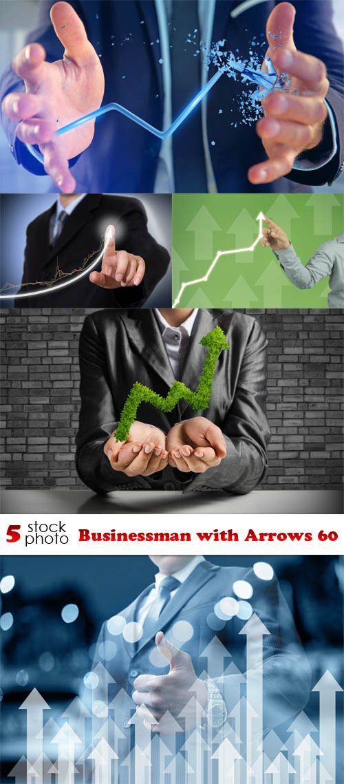 Photos - Businessman with Arrows 60