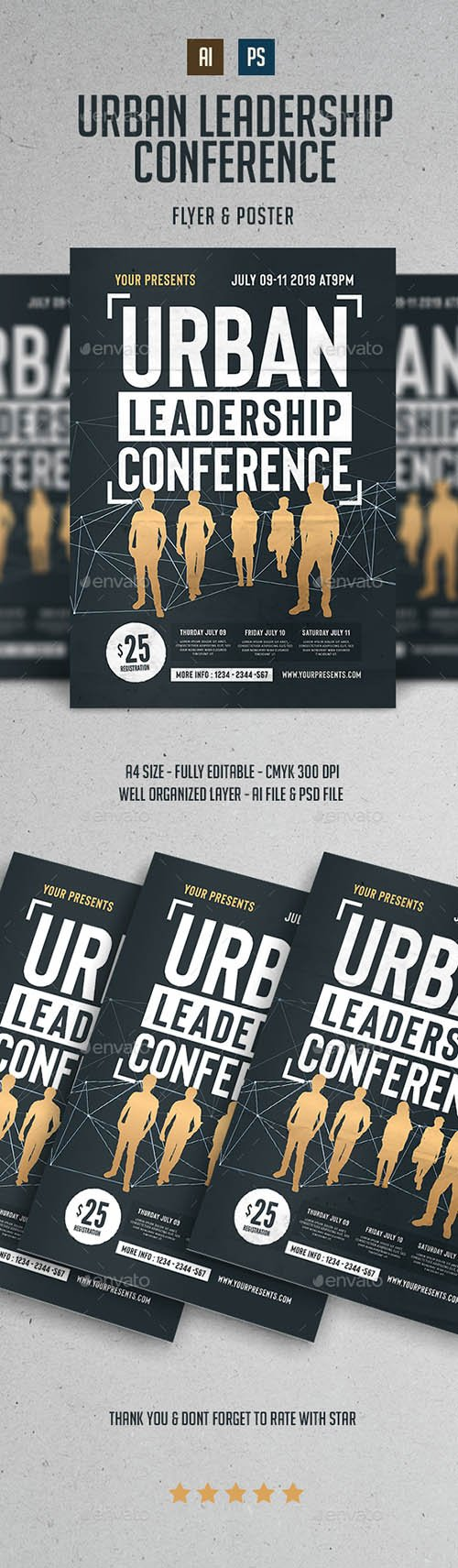 GR - Urban Leadership Conference Flyer 22302542