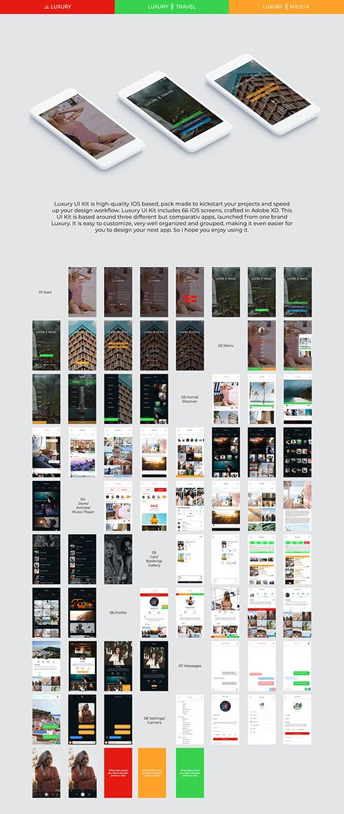 Luxury UI Kit