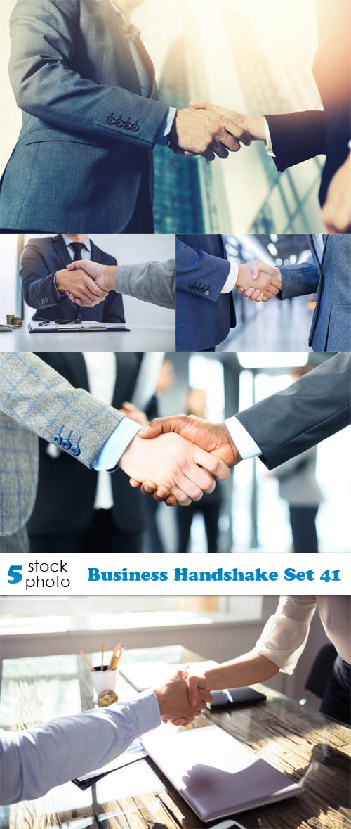 Photos - Business Handshake Set 41