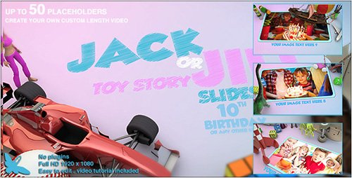 Toy Story Slideshow - Project for After Effects (Videohive)