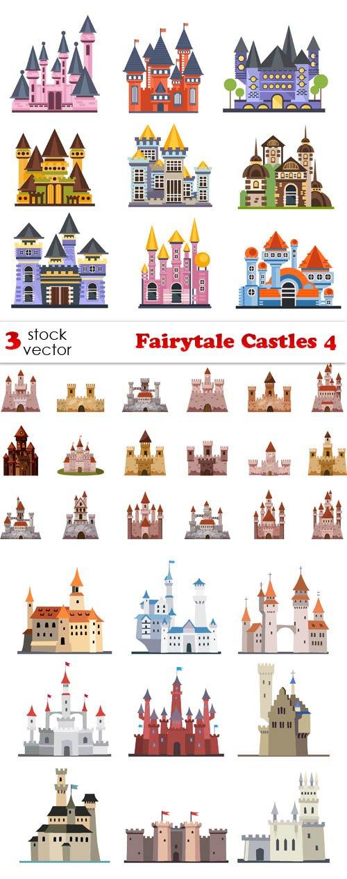 Vectors - Fairytale Castles 4
