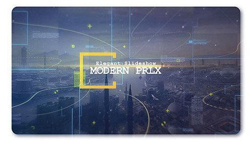 Modern Parallax Cinematic Slideshow - Project for After Effects (Videohive)