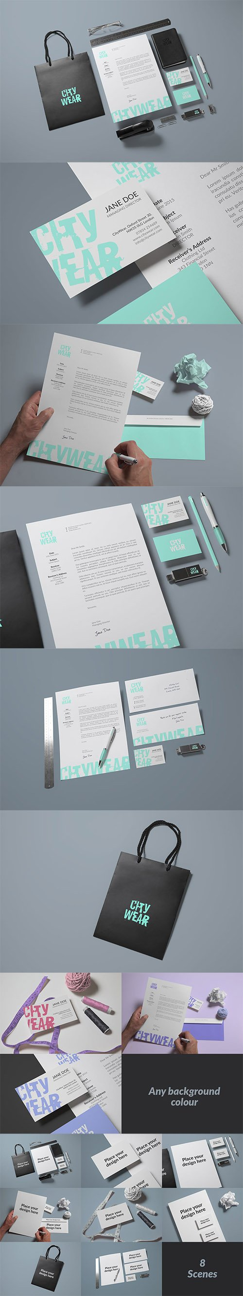 PSD Corporate Branding / Identity Mock-up