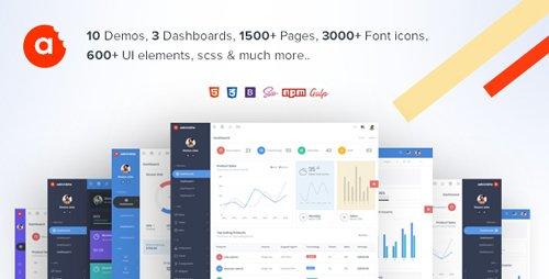 ThemeForest - AdminBite v1.0 - Powerful Bootstrap 4 Admin Template - 22123353