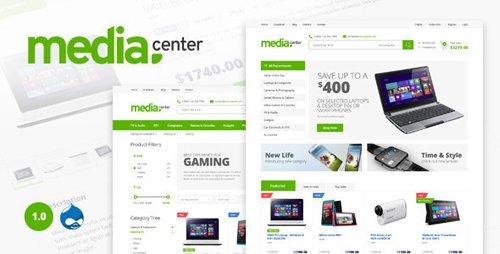 ThemeForest - Media Center - Multipurpose Drupal Theme (Update: 5 June 15) - 11556915