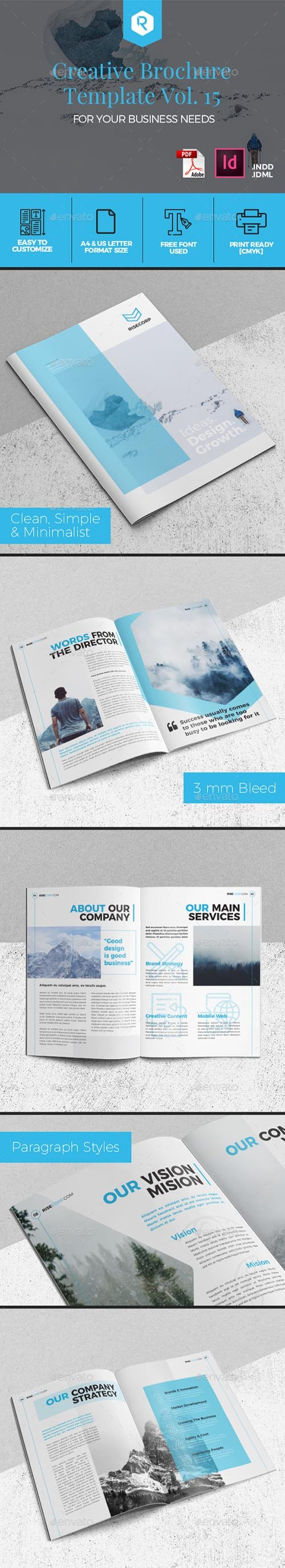 GR - Creative Brochure Template Vol. 15 20007529