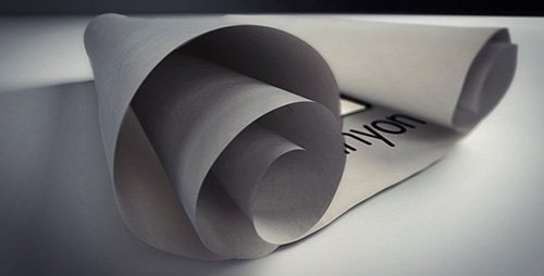 White Scroll Logo Reveals - Project for After Effects (Videohive)