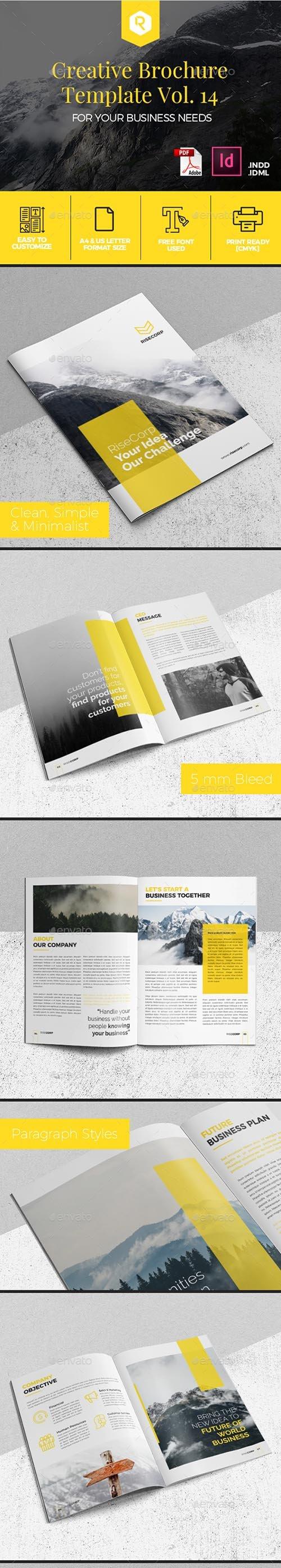 GR - Creative Brochure Template Vol. 14 19979736