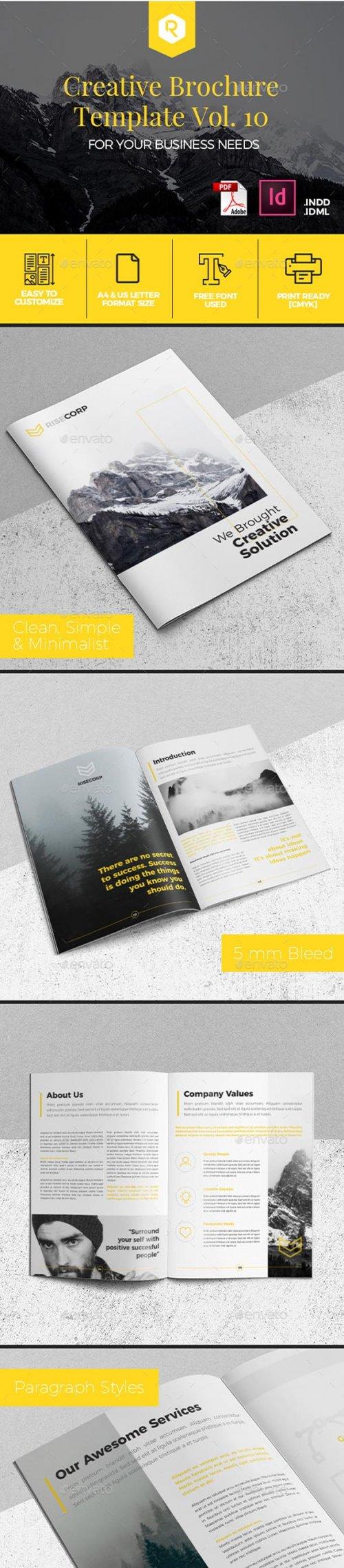 GR - Creative Brochure Template Vol. 10 19949253