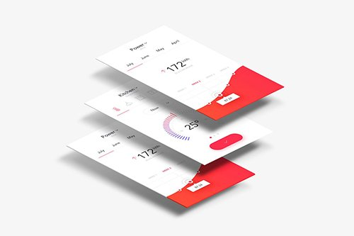 Mobile app Mock Up Vol 02