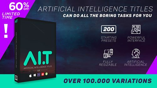 AI.T - Artificial Intelligence Titles V1.186 - After Effects Scripts (Videohive)