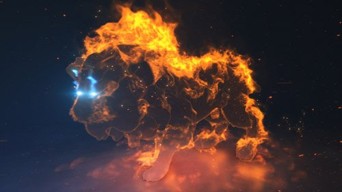 Lion Spirit Logo - Project for After Effects (Videohive)