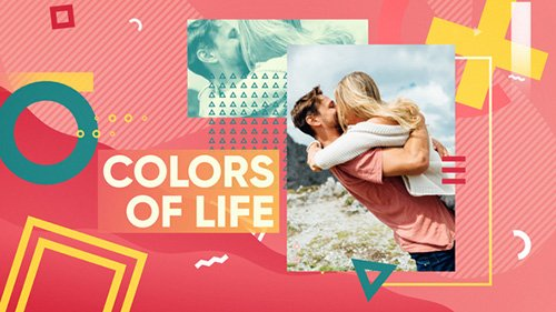 Colorful Opener 22043954 - Project for After Effects (Videohive)