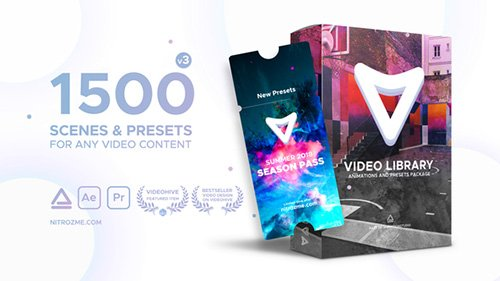 Video Library - Video Presets Package V3 - Project for After Effects (Videohive)