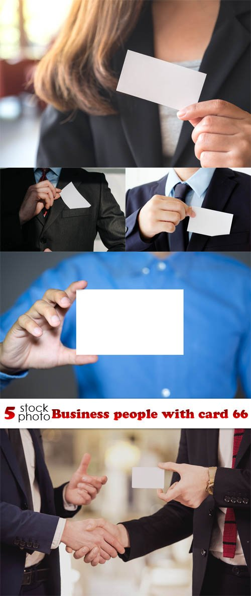 Photos - Business people with card 66