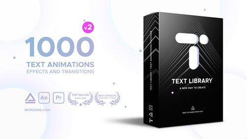 Text Library - Handy Text Animations V 1.2 - After Effects Add Ons & Project (Videohive)