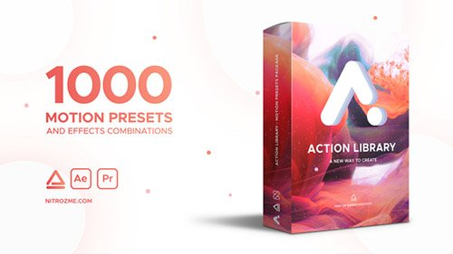 Action Library - Motion Presets Package - After Effects Add Ons & Project (Videohive)