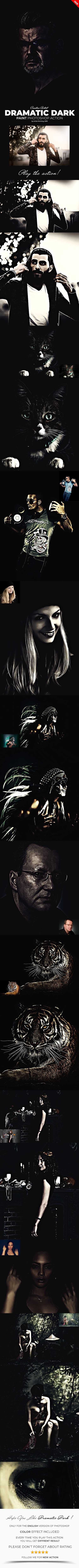 GraphicRiver - Dramatic Dark Paint Photoshop Action 22299205