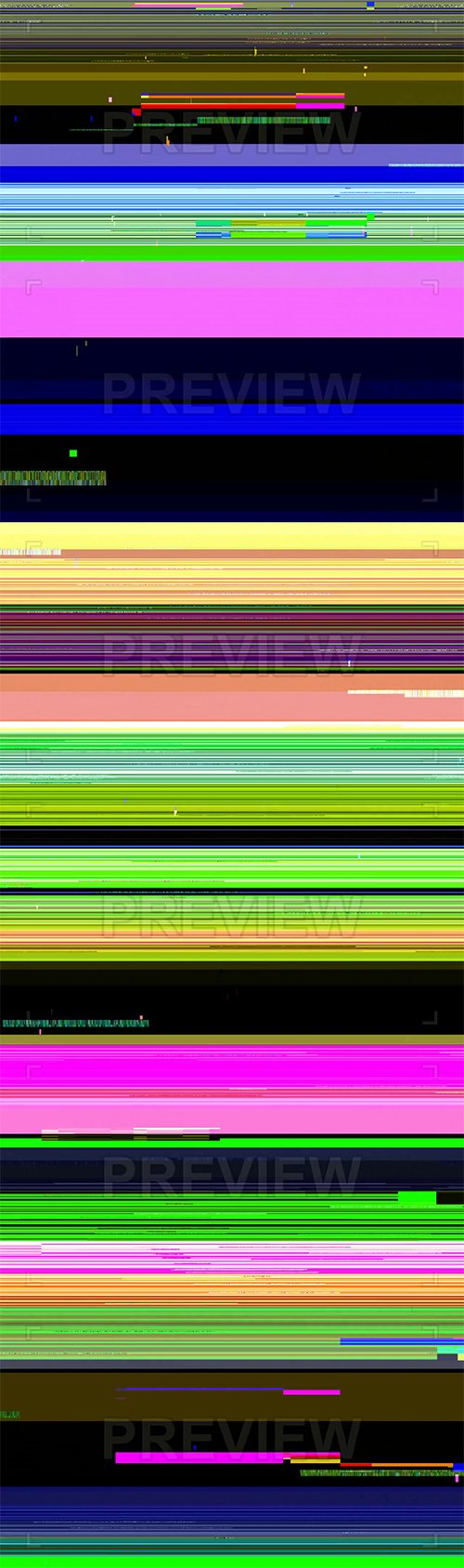 MA - Colored Lines Glitch Background 100602