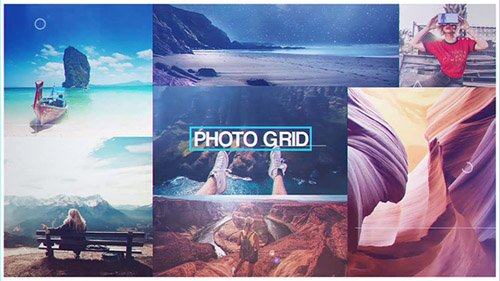 Photo Grid 22402192 - Project for After Effects (Videohive)