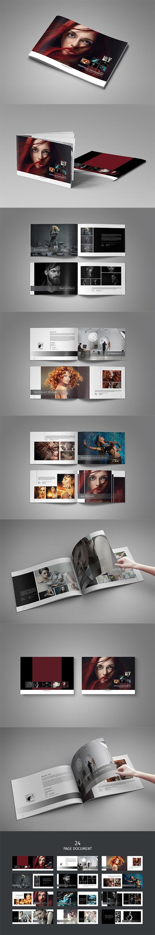 PSD Photo Album Template