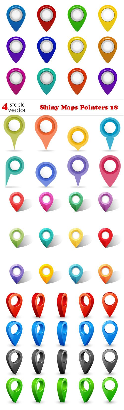 Vectors - Shiny Maps Pointers 18