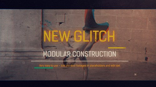 Glitch Reel Openers - Project for After Effects (Videohive)
