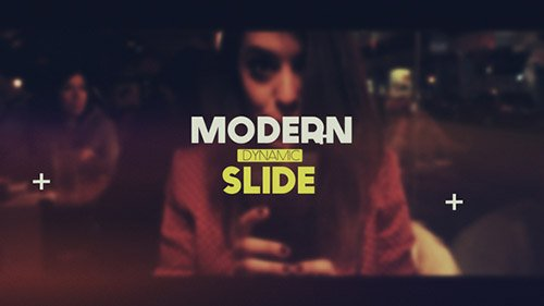 Modern Dynamic Slide - Project for After Effects (Videohive)