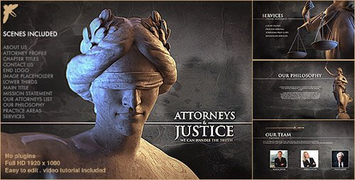 Law Firm Pack - Project for After Effects (Videohive)