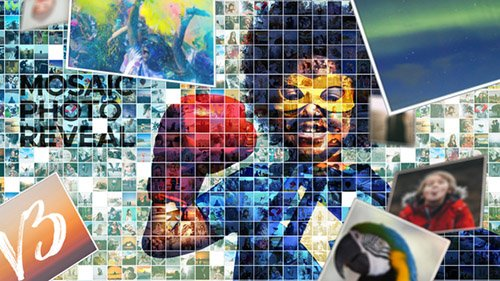 Mosaic Photo Reveal V3 - Project for After Effects (Videohive)