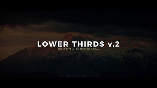 MA - Lower Thirds V.2 98065