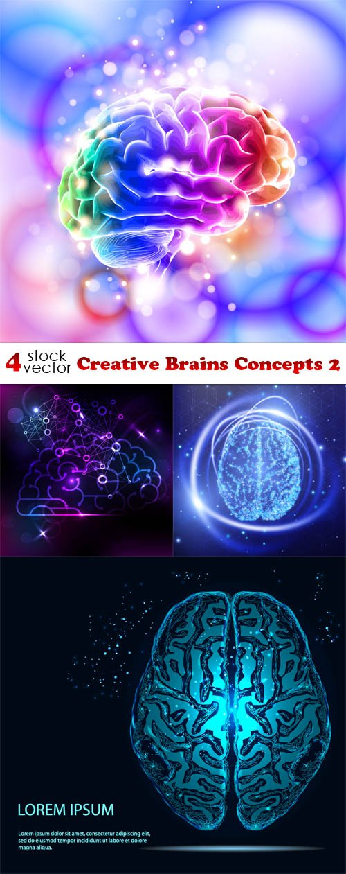 Vectors - Creative Brains Concepts 2