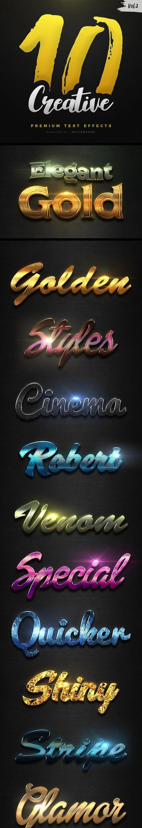 10 Creative Text Effects Vol.2 20988868