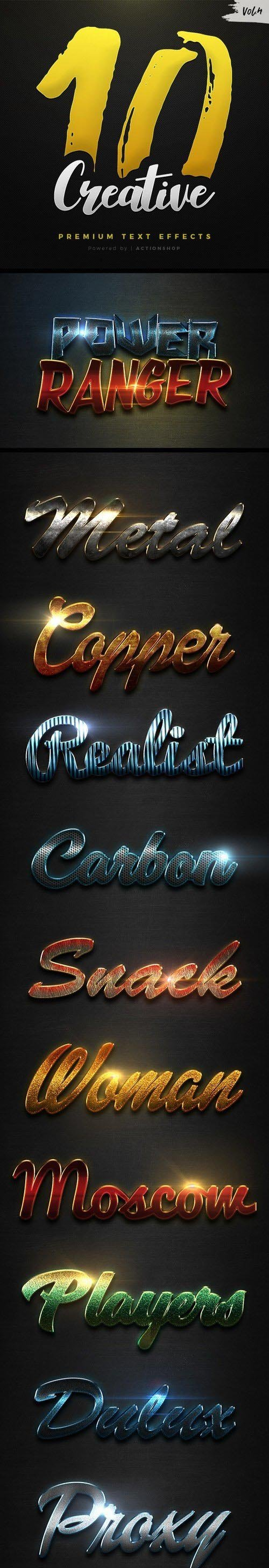 10 Creative Text Effects Vol.4 20998763
