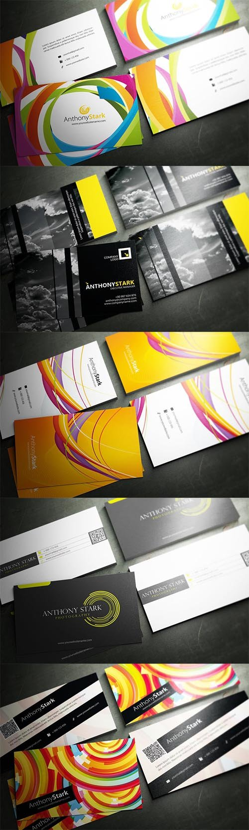 5 Modern Creative Business Cards