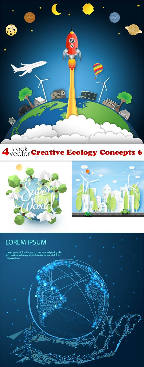 Vectors - Creative Ecology Concepts 6