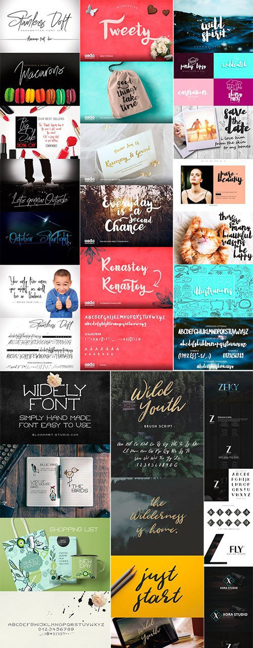 Mix Fonts Bundle 2