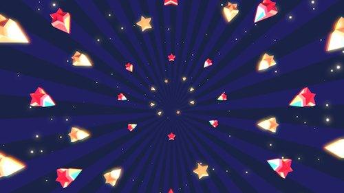 Cartoon Stars Background 19700150