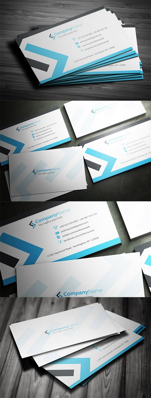 Business cards nitrogfx download unique graphics for creative psd minimal business card design reheart Images