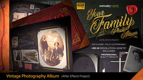 The Vintage Photography Album - Project for After Effects (Videohive)