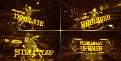 Plexus Sport Opener - Project for After Effects (Videohive)
