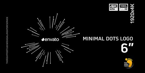 Minimal Dots Logo - Project for After Effects (Videohive)